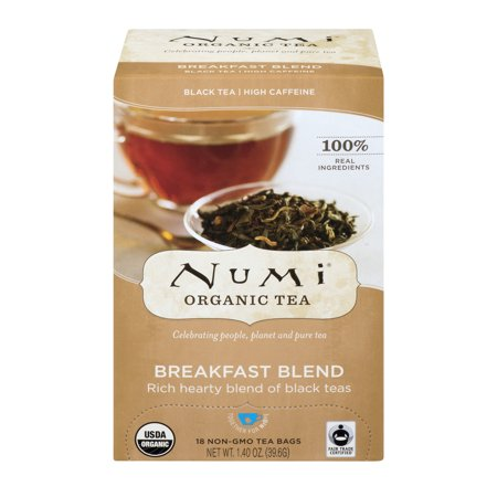 Numi Organic Tea Breakfast Blend - 18 CT1.4 OZ (Numi Red Tea)