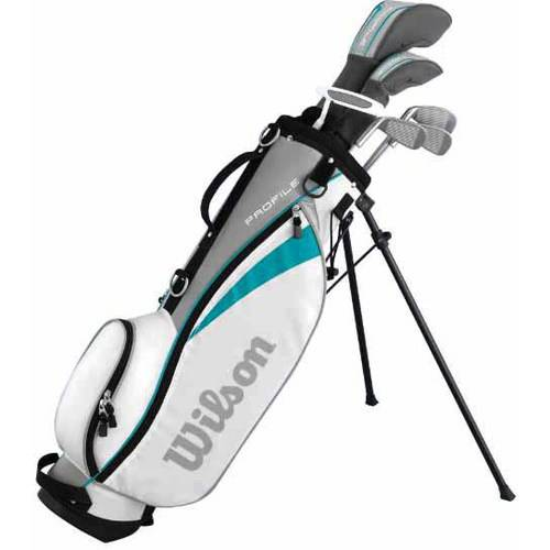 Wilson Profile Jr Girls Package Golf Sets, Large, Right Handed