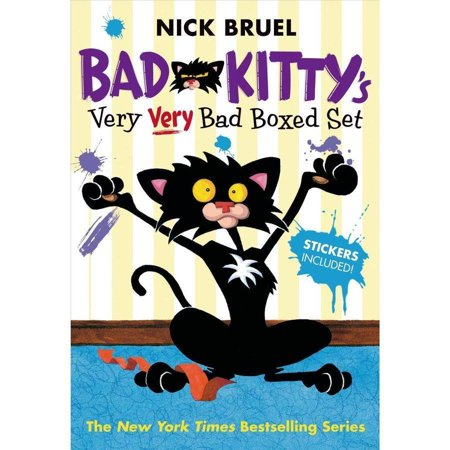 Bad Kittys Very Very Bad Boxed Set   2   Bad Kitty Meets The Baby  Bad Kitty For President  And Bad Kitty School Days