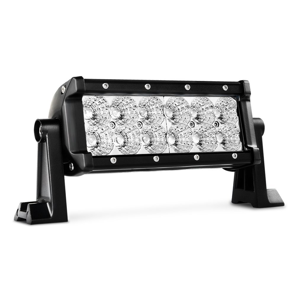 "Nilight 7.5"" 36w Flood Led Light Bar Jeep Off Road Lights 12v Led Light Super Bright for Jeep Cabin Boat Suv Truck Car Atvs,2 Years Warranty"