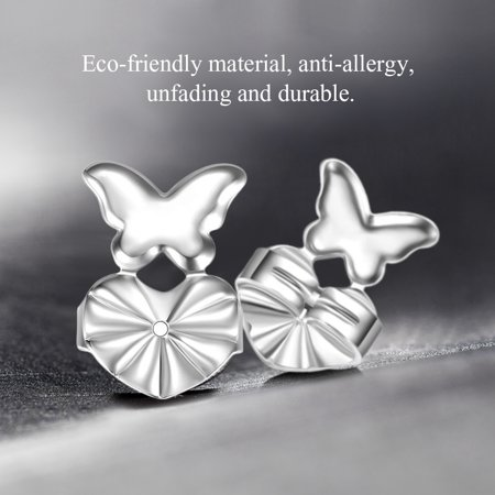 - Earrings Back Lifters,HURRISE 2 Colors 1 Pairs/Set Earrings Back Nut Lifters Lift Copper Ear Lobe Support