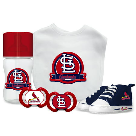 c1f6716a11985 MLB St. Louis Cardinals 5-Piece Baby Gift Set