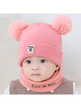 ff204510a98 Product Image New Autumn Winter Christmas Hat Baby Boys Girls Hat Warm  Windproof Wool Hat Toddler Kids Boy