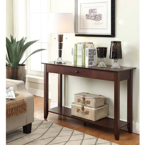 Convenience Concepts American Heritage Console Table, Multiple Finishes by Convenience Concepts