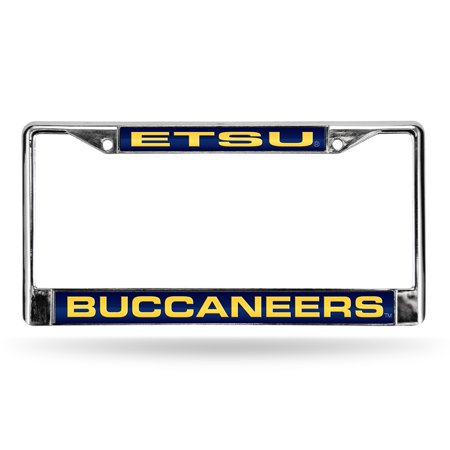 East Tennessee State Buccaneers NCAA Chrome Laser Cut License Plate Frame