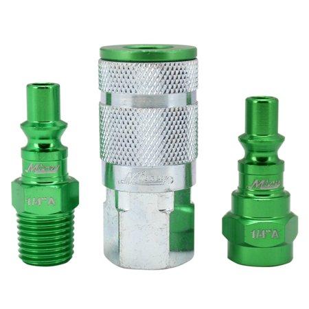 ColorFit Coupler & Plug Kit (3 Piece), A-Style 1/4