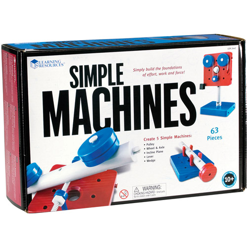 Learning Resources Simple Machines Building Set