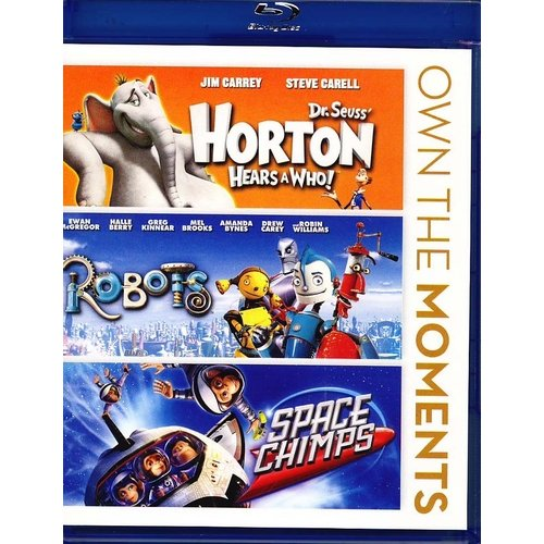 Horton Hear's A Who / Robots / Space Chimps (Blu-ray) (Widescreen)