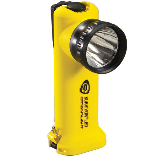 Streamlight Survivor LED Alkaline (MSHA), Orange by Streamlight