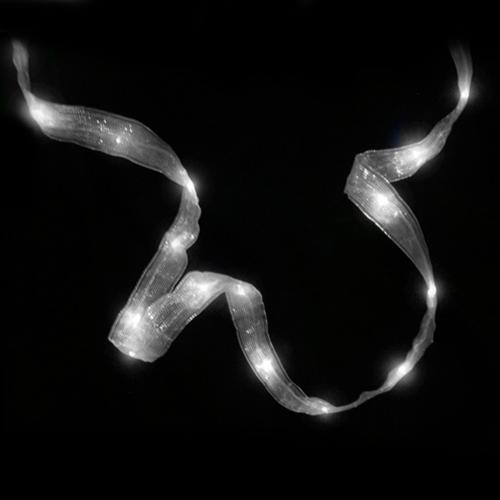 LSD 2 Pcs Wedding Lights Ribbon Light 32 LED 9 feet Batte...