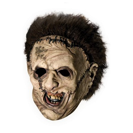 The Texas Chainsaw Massacre Mask (Texas Chainsaw Massacre Leatherface Deluxe 3/4 Adult)