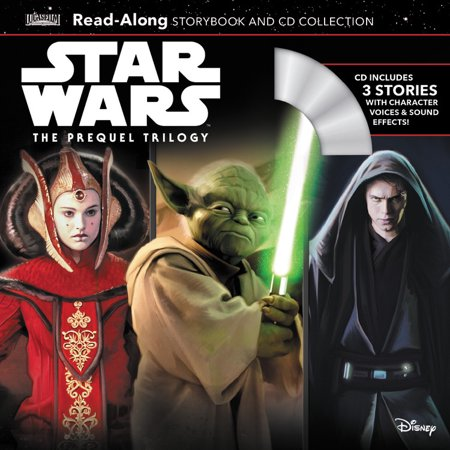 Star Wars The Prequel Trilogy Read-Along Storybook & CD Collection (Star Wars Read Along Cassette)