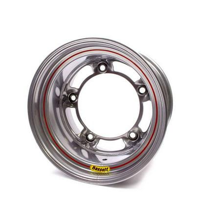 Bassett Armor Edge 15X10  Wide 5 Silver Wheel P N 50Sr45s