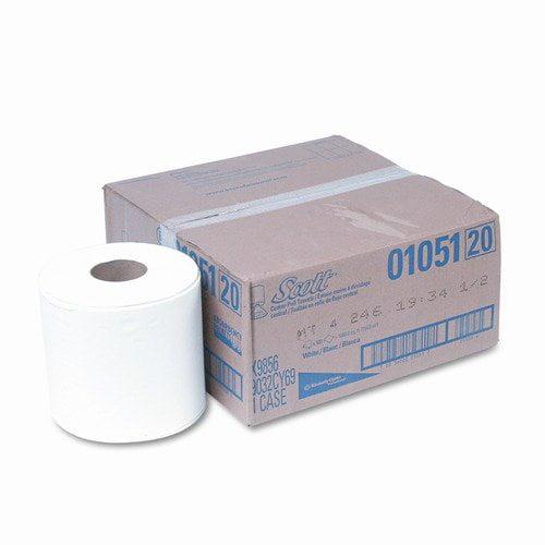 SCOTT SCOTT Center-Pull Paper Roll Towels, 8 x 15, WE, 500/roll, 4/ctn