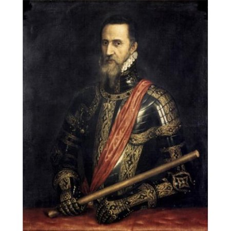 Superstock SAL2622124 Grand Duke of Alba Titian, 1485-1576 Italian Collection of The Duke of Berwick & Alba Madrid Spain Poster Print, 18 x 24 - image 1 de 1