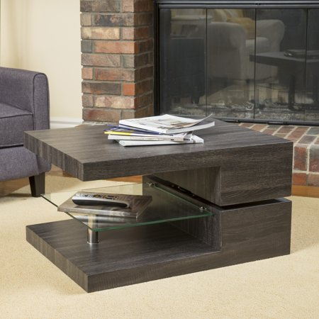 Superb Bushwick Rectangular Rotating Wood Coffee Table Cjindustries Chair Design For Home Cjindustriesco