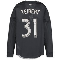 Russell Teibert Vancouver Whitecaps FC Autographed Match-Used White #31 Jersey from the 2018 MLS Season - Fanatics Authentic Certified
