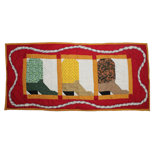 Patch Magic Boots Table Runner