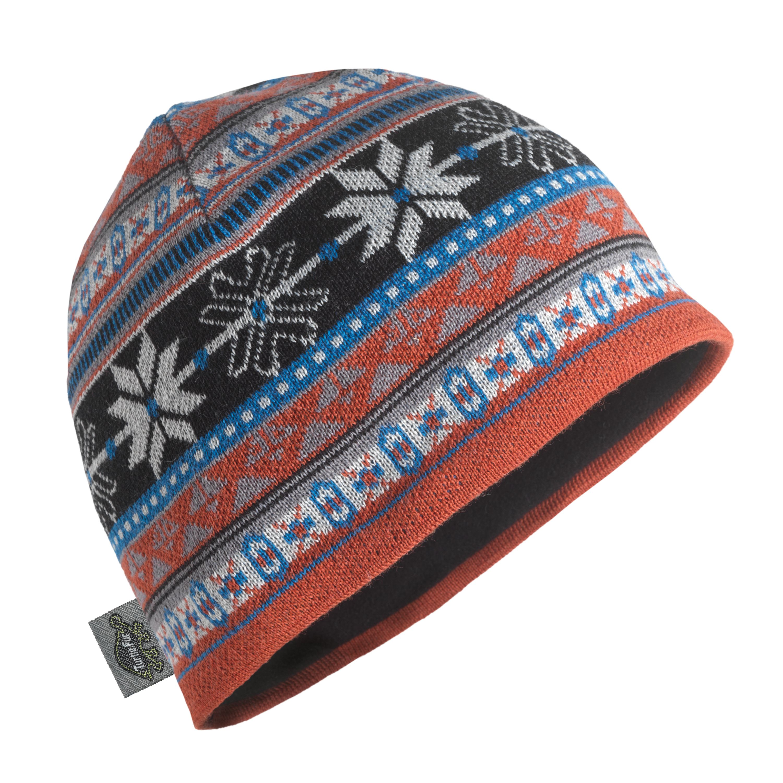 Turtle Fur Lars Merino Wool Nordic Style Knit Beanie, Men...