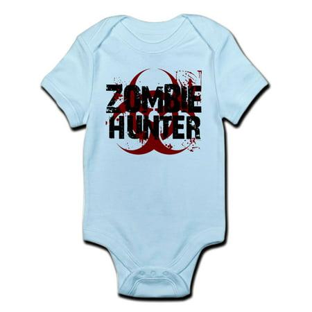 CafePress - Zombie Hunter Infant Bodysuit - Baby Light Bodysuit - Zombie Babies