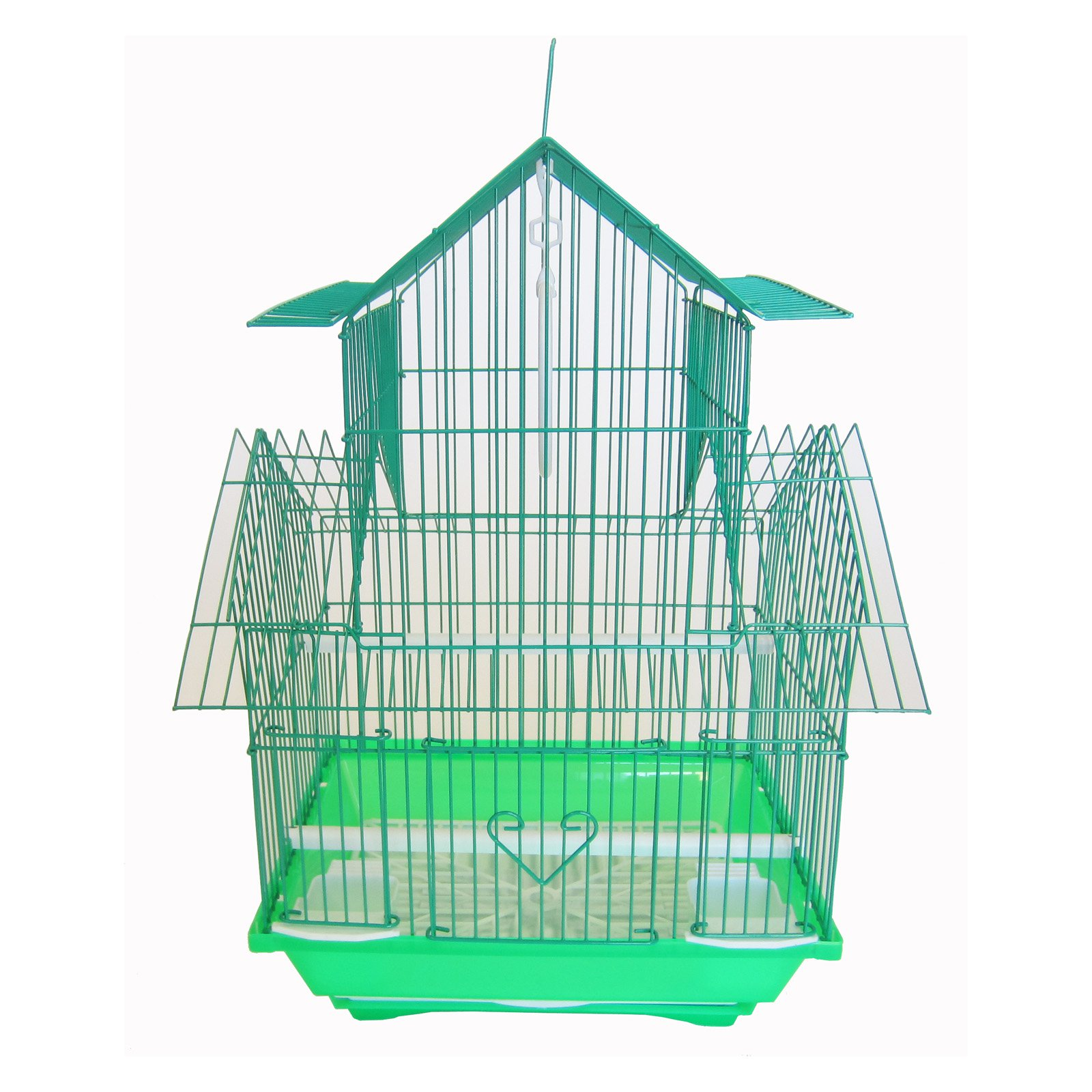 YML A1144GRN Pagoda Top Cage, Small