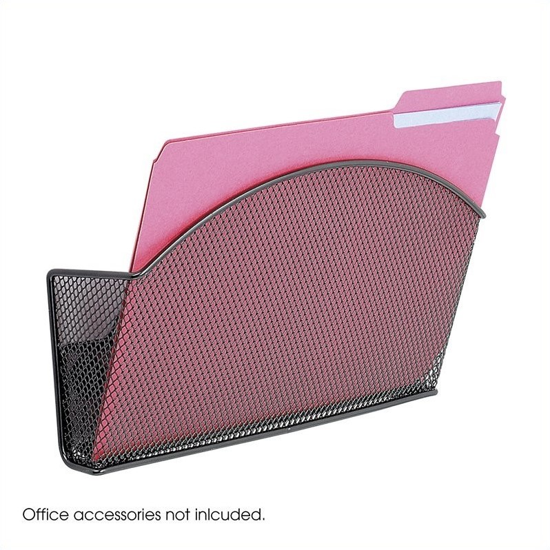 Scranton & Co Magnetic Mesh Single File Pocket (Set of 6)