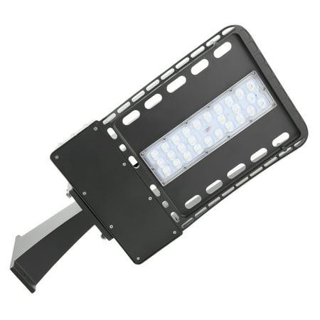 Hascon 60W LED Shoe-box Street Area Light ,Parking Lots Pole Super (Best Led Parking Lot Lights)