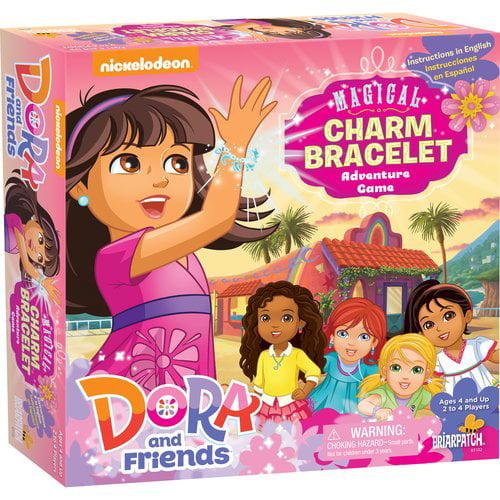 Nickelodeon Dora & Friends Magical Charm Bracelet Adventure Game