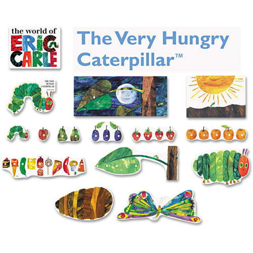 Carson-Dellosa Publishing Storytelling Decorations Set, 14pc, The Very Hungry Caterpillar