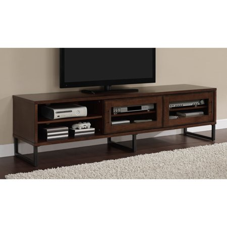 Carbon Loft 74 Inch Breckenridge Gl Door Entertainment Center