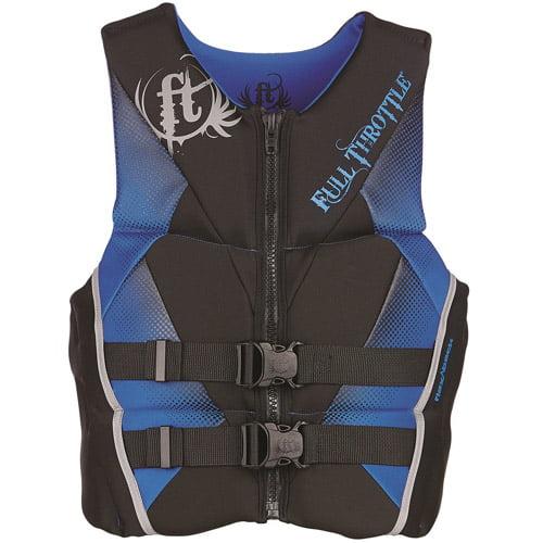Full Throttle Men's Hinged Rapid-Dry Flex-Back Vest by Full Throttle