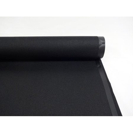 SHASON TEXTILE PRO TUFF OUTDOOR FABRIC, BLACK. (By The Yard)