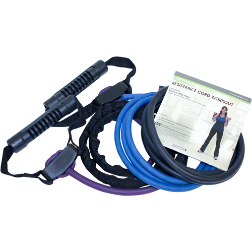 Trimax Sports Zenzation 6-Piece Resistance Cord Kit