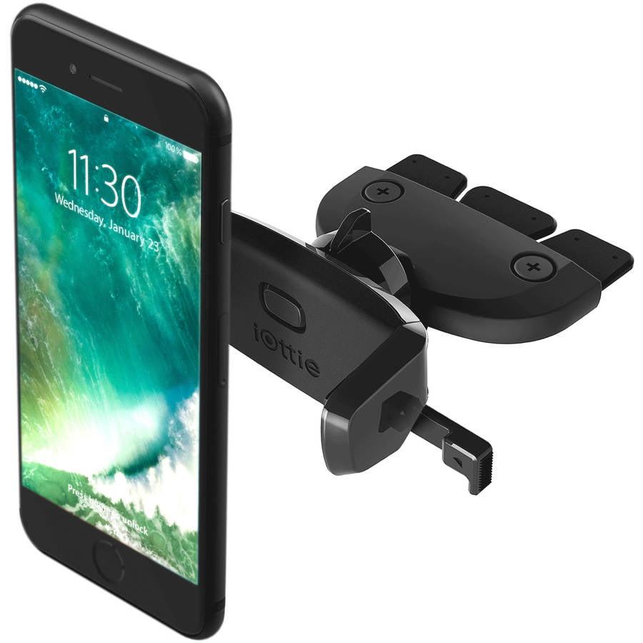 iOttie Easy One Touch Mini CD Slot Universal Car Mount Holder Cradle for iPhone 5/5C/5S/6/6S/SE, 6/6SPlus, Galaxy S5/S6/S7, S6/S7Edge, Note 4/5/Edge