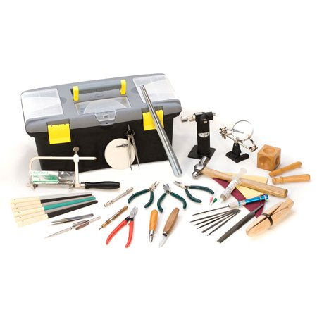 eurotool jeweler 39 s hand tool set includes 26 tools and storage box. Black Bedroom Furniture Sets. Home Design Ideas