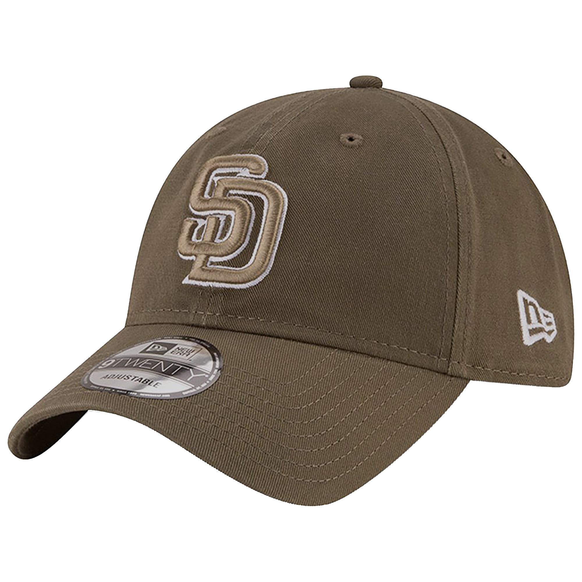 San Diego Padres New Era Alternate Replica Core Classic 9TWENTY Adjustable Hat - Olive - OSFA