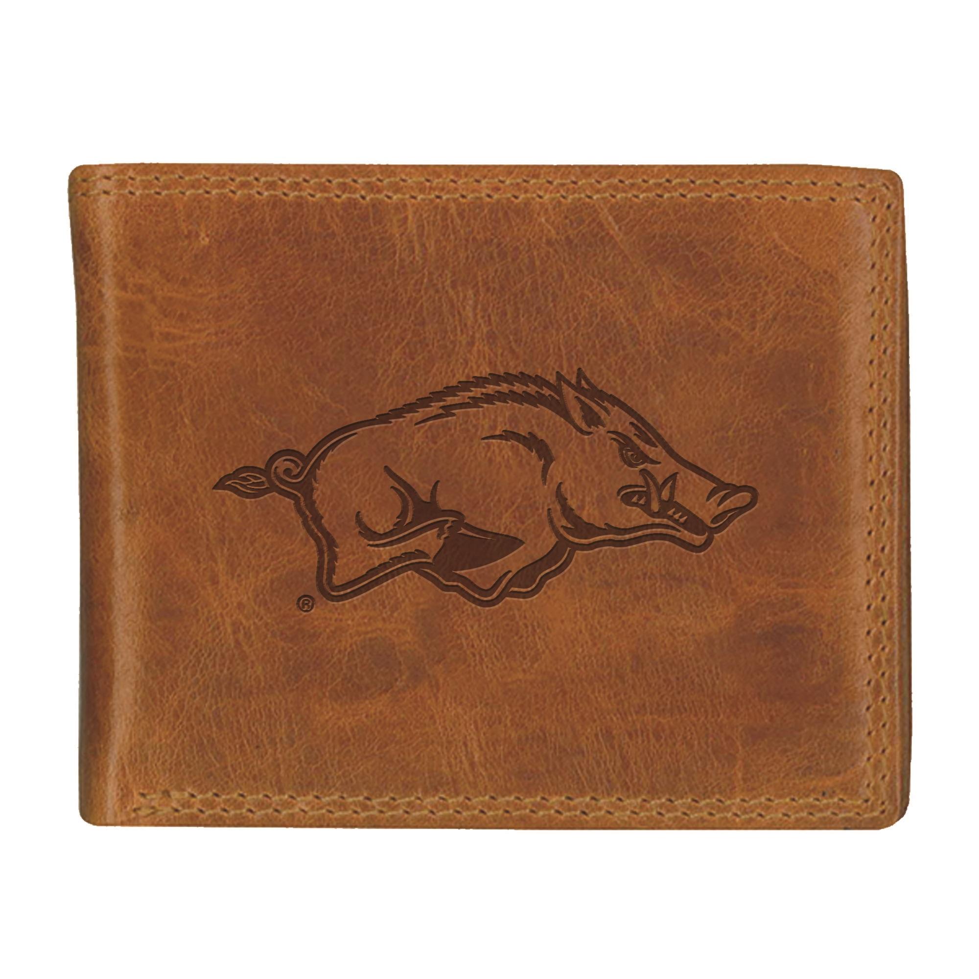 University of Arkansas Westbridge Leather Wallet