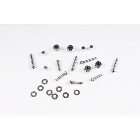 EDGE LEATHER Hardware for Detachable Saddlebag   #020304 (Detachable Leather Saddlebags)