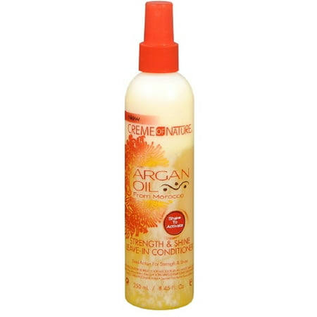Creme of Nature Strength & Shine Leave-in Conditioner With Argan Oil From Morocco, 8.45