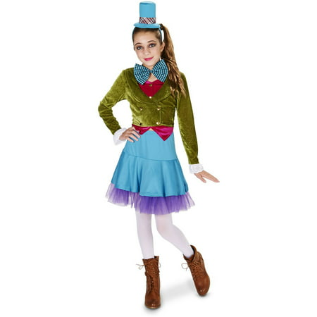 Vivid Mad Hatter Teen Halloween Costume for $<!---->
