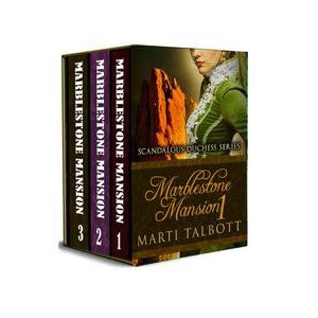 Marblestone Mansion, (Omnibus, Books 1 - 3) - eBook