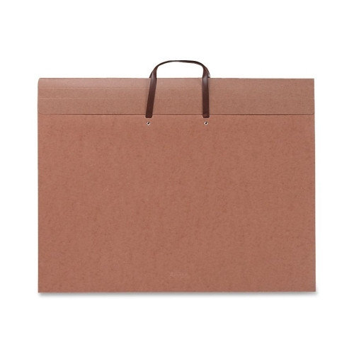 Smead Manufacturing Company Redrope Artwork/Presentation Portfolio w/Flap, 1-Section, 2'' Capacity, 26w x 20h
