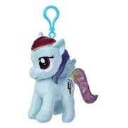 "Aurora World My Little Pony Clip-On Rainbow Dash Pony Plush, 4.5"""