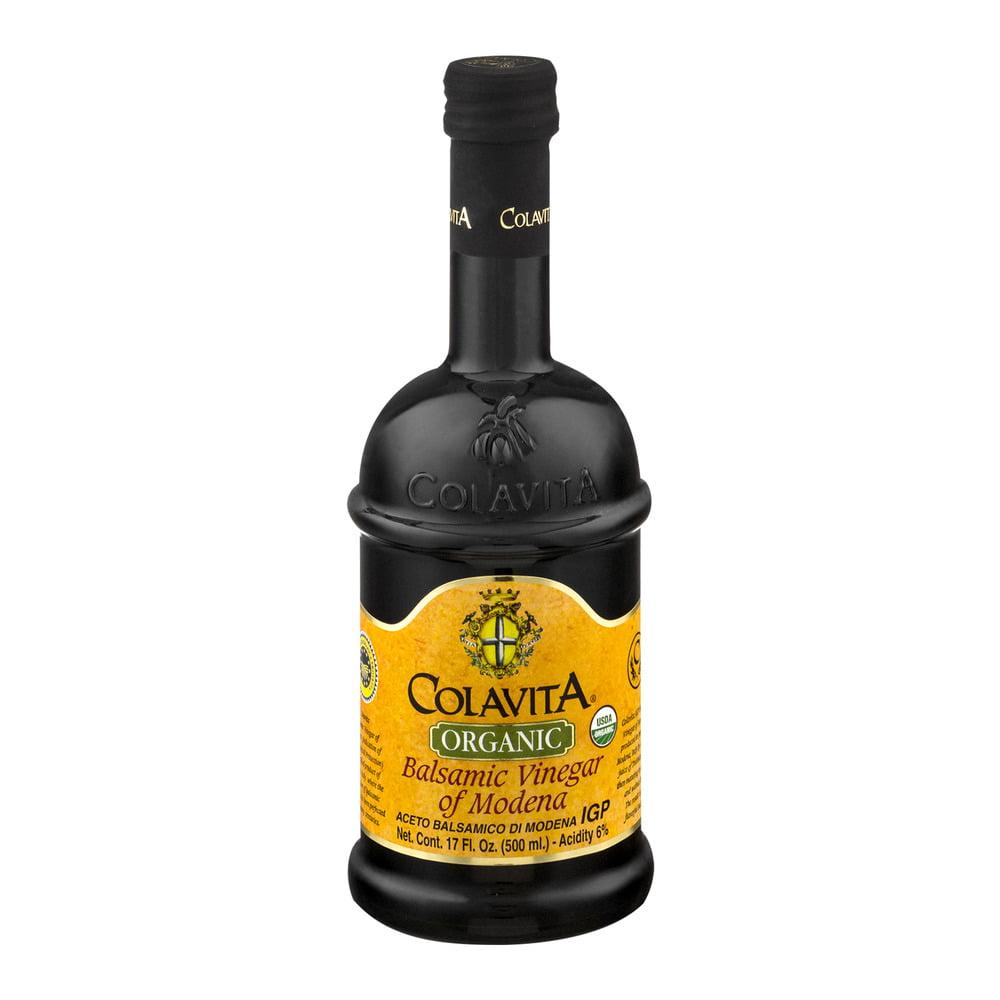 Colavita Organic Balsamic Vinegar of Modena, 17.0 FL OZ by Colavita