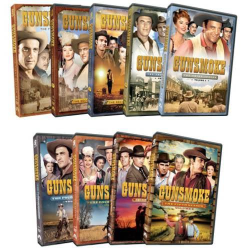 Gunsmoke: Five Season Pack (Full Frame)
