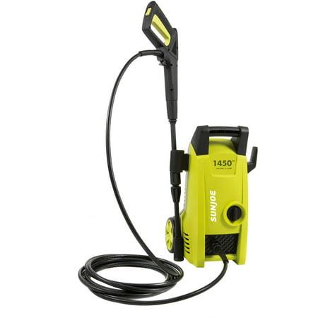 Sun Joe Pressure Joe 1450 PSI 1.45 GPM 11.5-Amp Electric Pressure Washer, SPX1000