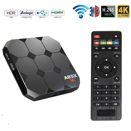A95X R2 Android 7.1 Smart TV Box Amlogic S905W WiFi 2 GB RAM 16GB ROM Set Top Box Andorid 7 Set-Top (Best Android Tv Box August 2019)