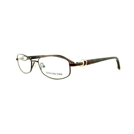 JONES NEW YORK Eyeglasses J473 Brown 52MM