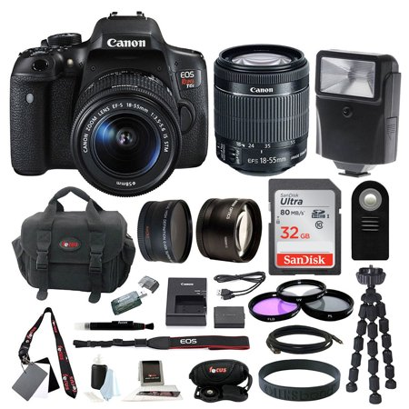 Canon Eos Rebel T6i Digital Camera With Ef S 18 55Mm F 3 5 5 6 Is Stm Lens   Kit