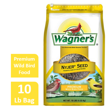 10 LB Wagner's Nyjer Wild Bird Food Wild Birds Finches